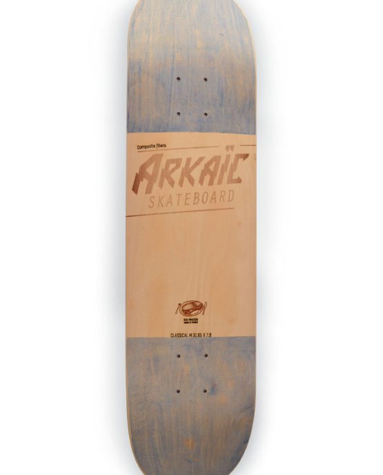 Classical M arkaic skateboard chillboard cruiser made in france arkaic concept