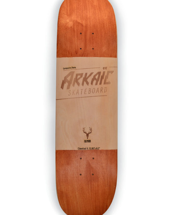 Classical XL arkaic skateboard chillboard cruiser made in france arkaic concept