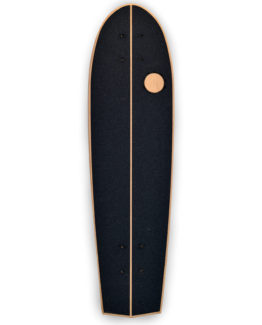 Flat-kick vintage skateboard arkaic skateboard chillboard cruiser made in france arkaic concept