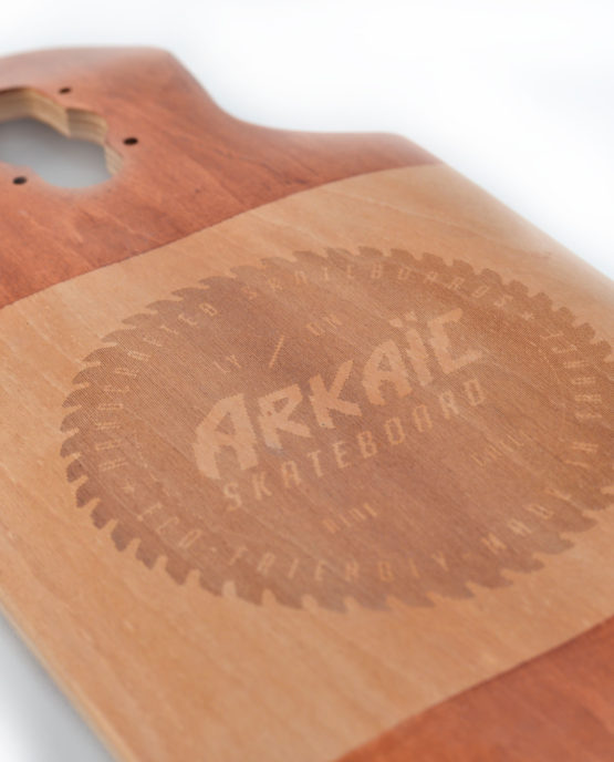 Techdown arkaic skateboard chillboard cruiser made in france Arkaic Skateboard