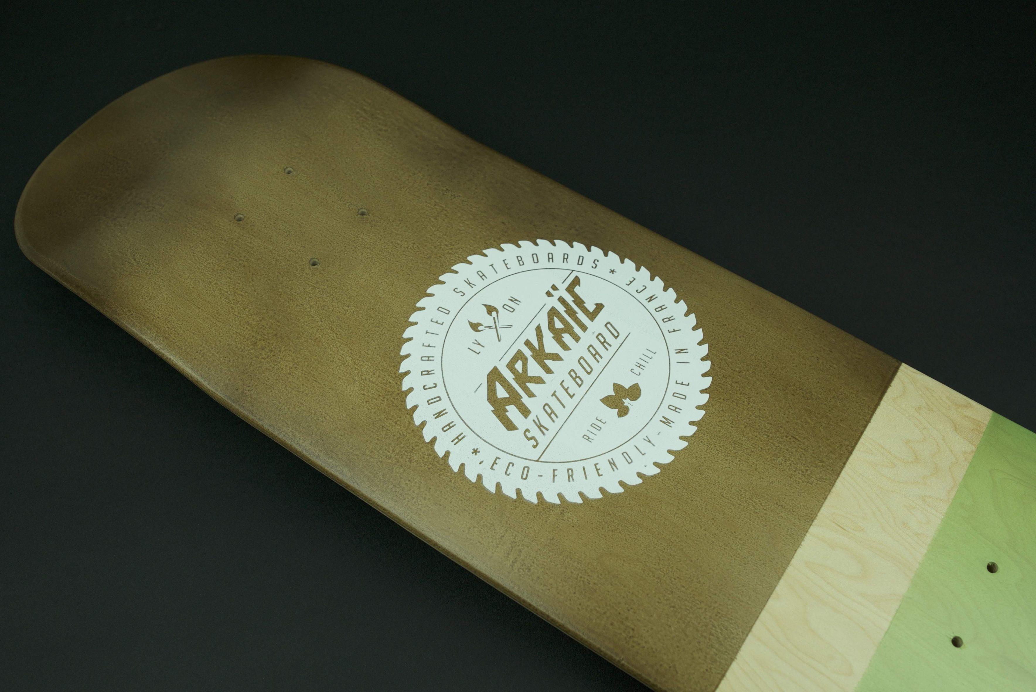 "Classical XXL 8,5"" SkateShop Lyon Street Arkaic Skateboard"