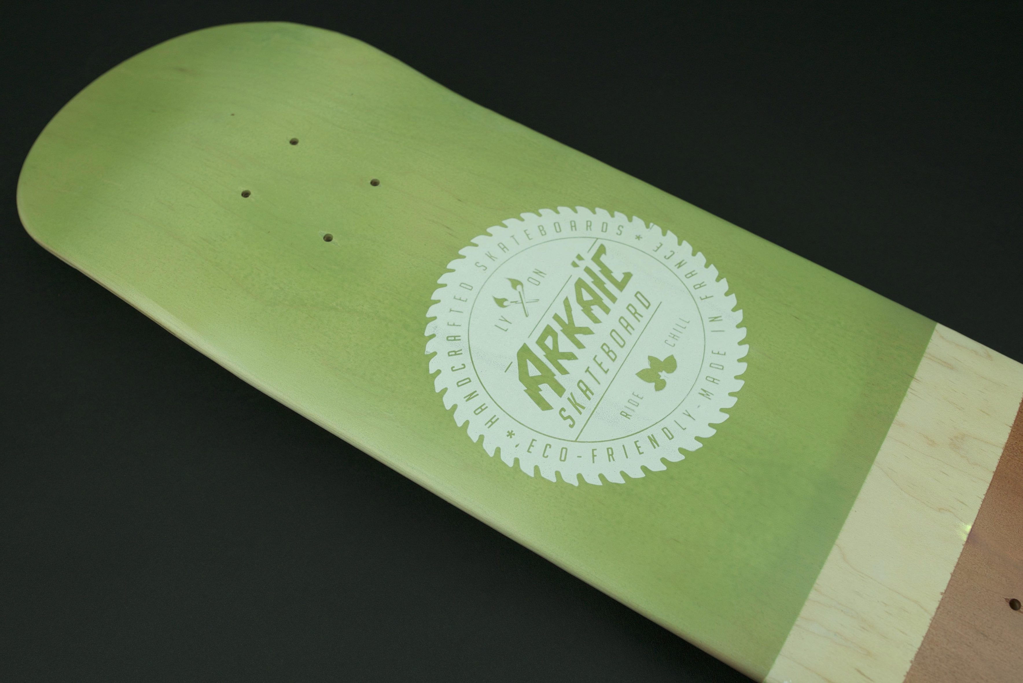 "Classical L 8,1"" SkateShop Lyon Street Arkaic Skateboard"