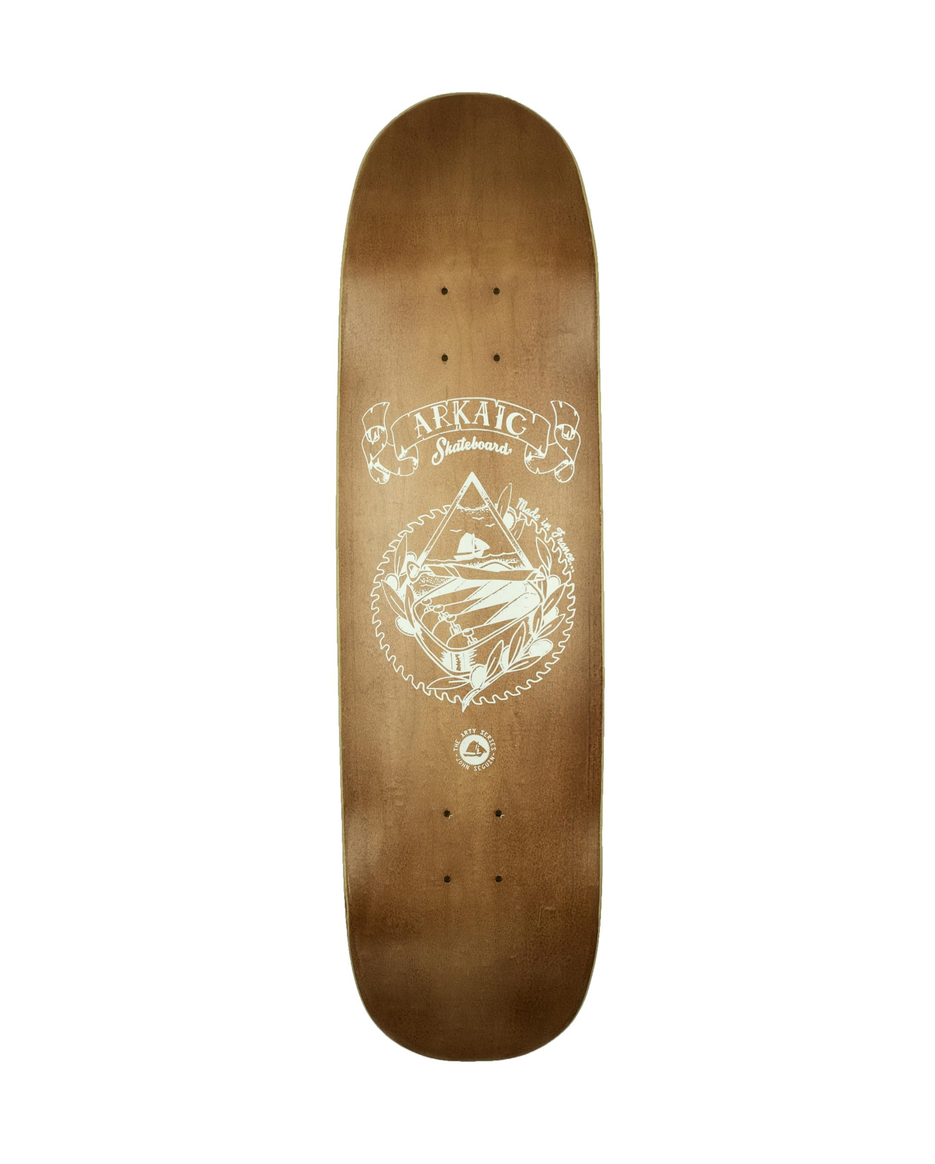 "Rock N Roots 8.4"" SkateShop Lyon Cruiser Arkaic Skateboard"