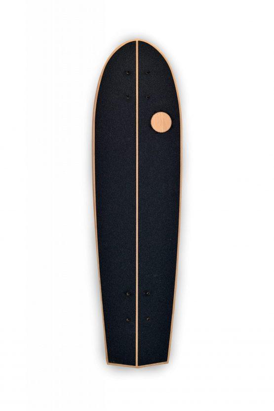 Flat-kick vintage skateboard arkaic skateboard chillboard cruiser made in france arkaic concept