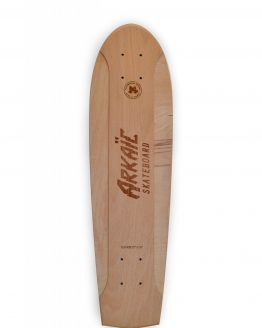Flat-kick vintage skateboard arkaic skateboard chillboard cruiser made in france arkaic concept5