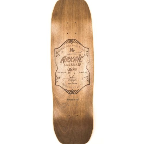 "Fat School 8.6"" SkateShop Lyon Cruiser Arkaic Skateboard"