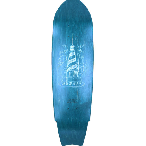 "Top Swell 8.5"" SkateShop Lyon Cruiser Arkaic Skateboard"
