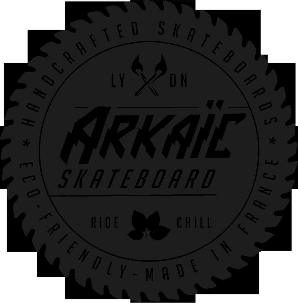 Logo GRIP ARKAIC SKATEBOARD