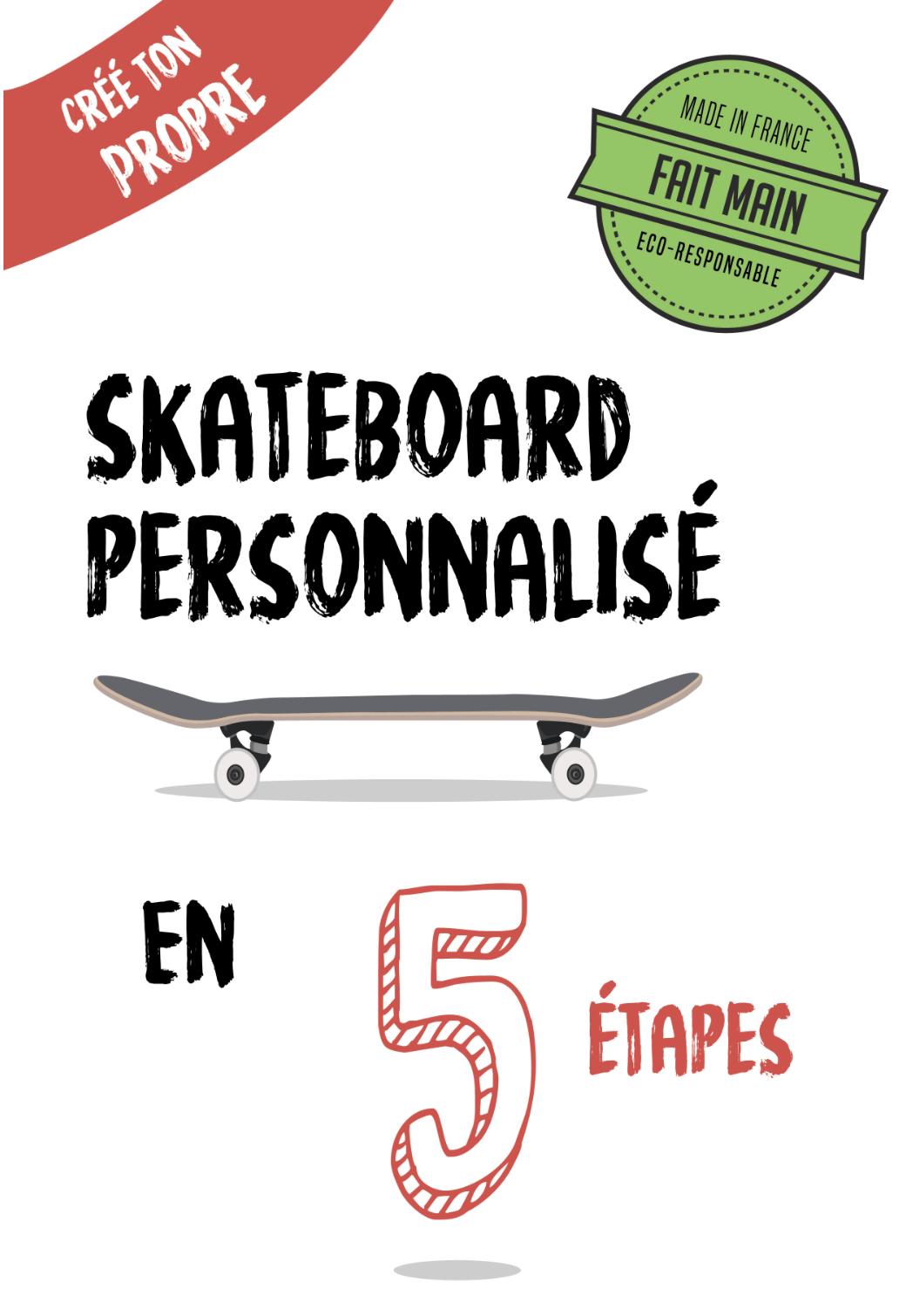 Skateboard personnalisé