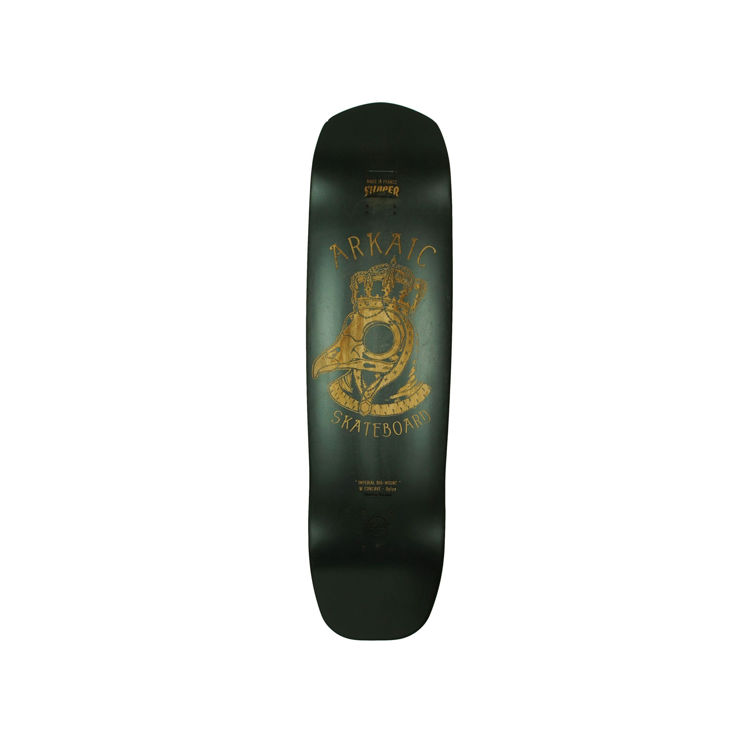 Longboard freeride made in france